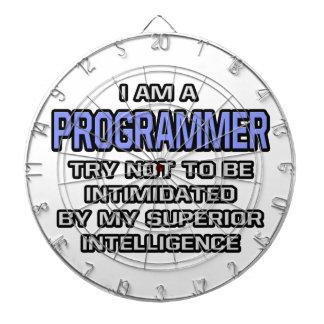 Programmer Joke ... Superior Intelligence Dartboards