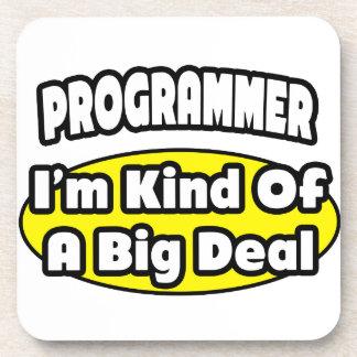 Programmer = Kind of a Big Deal Coaster