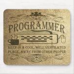 Programmer Mousepad