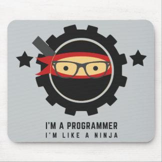 programmer mousepad:i'm like a ninja mouse pad