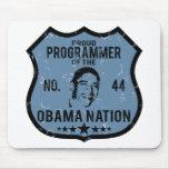 Programmer Obama Nation Mouse Mat