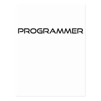 Programmer Postcard