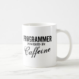 Programmer power by caffeine coffee mug