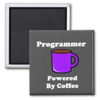 """Programmer"" Powered by Coffee Magnet"