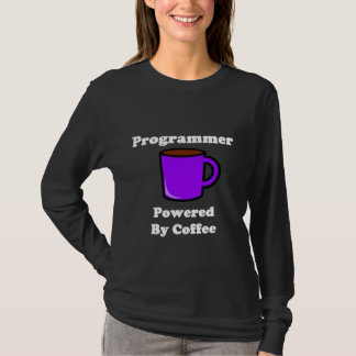 """""""Programmer"""" Powered by Coffee T-Shirt"""