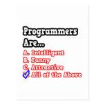 Programmer Quiz...Joke Postcards