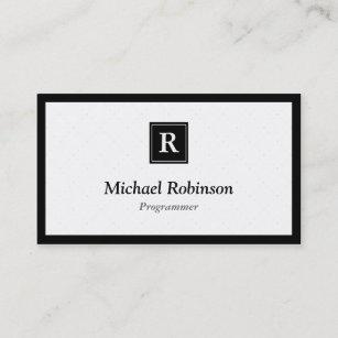 programmer business cards zazzle