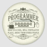Programmer Stickers