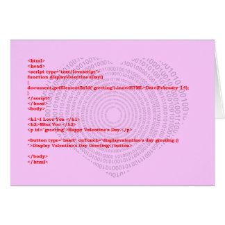 Programmer Valentine's Day Card