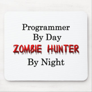 Programmer/Zombie Hunter Mouse Pad