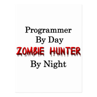 Programmer/Zombie Hunter Postcard