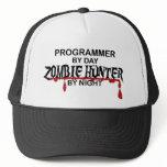 Programmer Zombie Hunter Trucker Hat