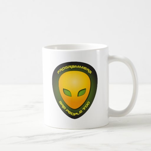 Programmers Are People Too Classic White Coffee Mug