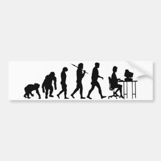 Programmers business analysts secretaries gear bumper sticker