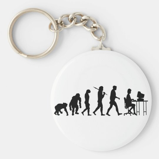 Programmers business analysts secretaries gear keychain