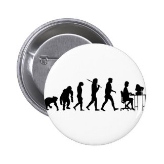 Programmers business analysts secretaries gear pinback button