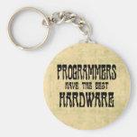 Programmers Hardware Keychains