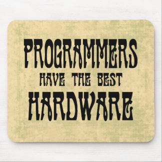 Programmers Hardware Mouse Pad