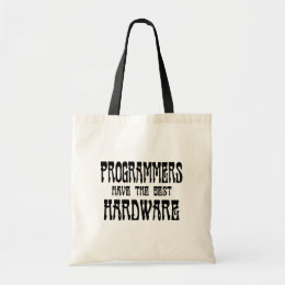 Programmers Hardware Tote Bag