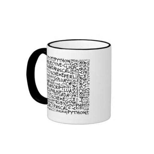 Programmers Have Multiple Programming Skills Ringer Coffee Mug