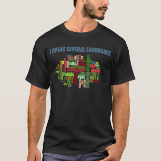 Programmers Have Multiple Programming Skills T-Shirt