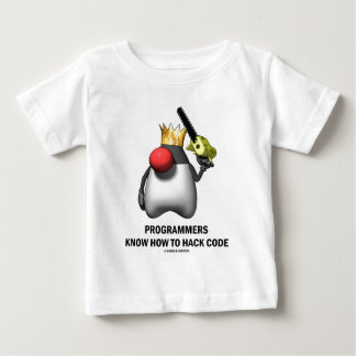 Programmers Know How To Hack Code (Open Source) T-shirt