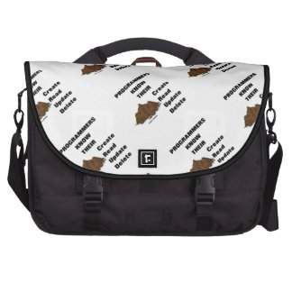 Programmers Know Their CRUD Computer Bag