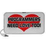 Programmers Need Love Too Notebook Speakers