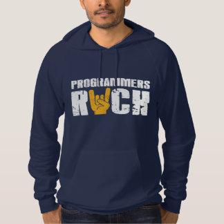 programmers rock hoodie