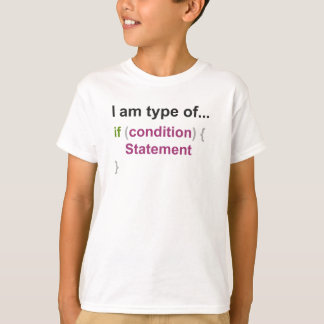 programming if else style two T-Shirt
