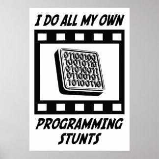 Programming Stunts Poster