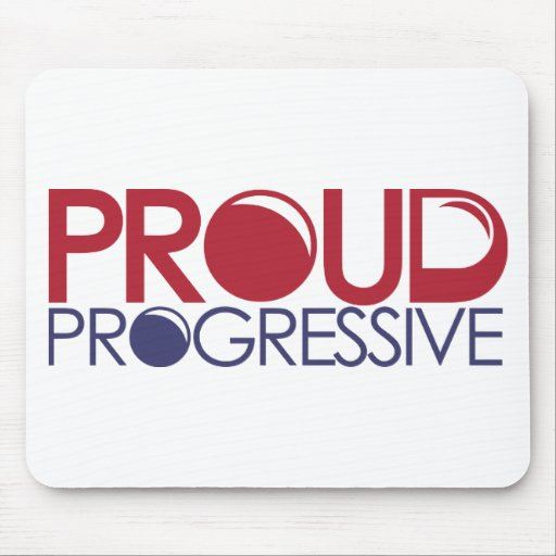 Progresista orgulloso mousepads