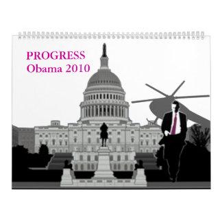 Progreso 2010calendar de Obama Calendarios