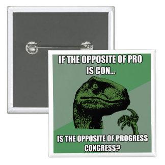Progreso de Philosoraptor contra congreso Pin