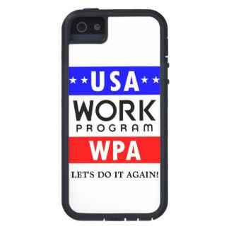 Progreso de trabajos de WPA Admin. ¡DEJE LOS E.E.U iPhone 5 Funda
