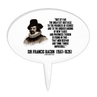 Progreso del obstáculo de sir Francis Bacon de la Decoraciones De Tartas