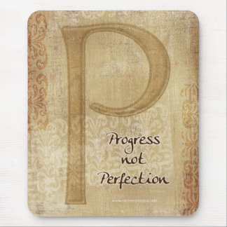 Progress Not Perfection Mouse Pad