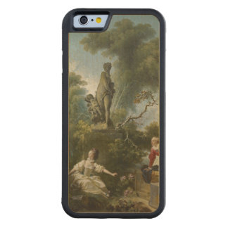 Progress of Love: The Rendezvous by Fragonard Carved® Maple iPhone 6 Bumper Case