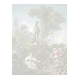 Progress of Love: The Rendezvous by Fragonard Letterhead