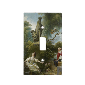 Progress of Love: The Rendezvous by Fragonard Light Switch Cover