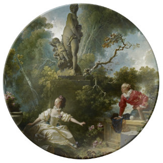 Progress of Love: The Rendezvous by Fragonard Porcelain Plates
