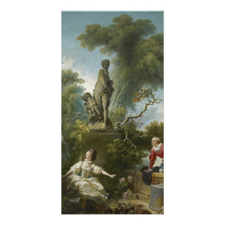 Progress of Love: The Rendezvous by Fragonard Photo Greeting Card