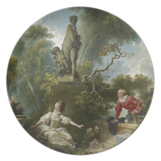 Progress of Love: The Rendezvous by Fragonard Party Plate