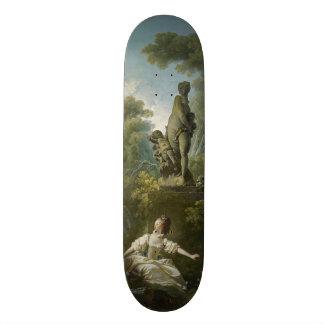 Progress of Love: The Rendezvous by Fragonard Skateboard