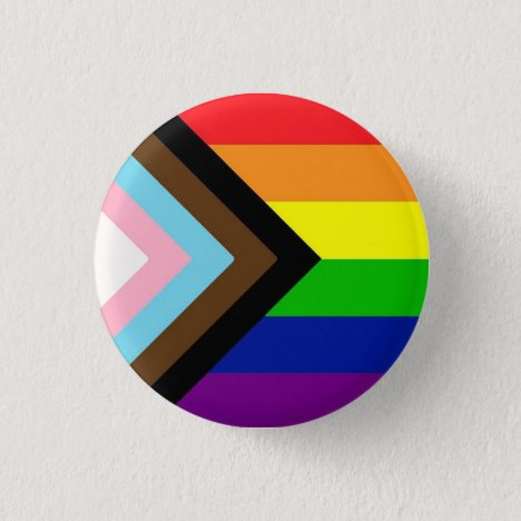 Progress Pride Flag Badge
