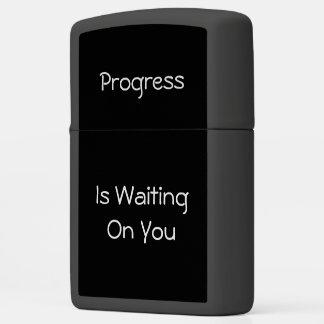Progress Zippo Lighter