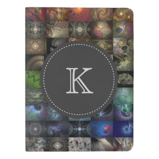 """Progression"" Monogrammed Notebook Cover"