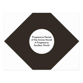 Progressive Denial of the Anima Mundi The MUSEUM Postcard