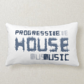 Progressive house music pillow