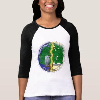 Progressive Libertarian Coalition Sporty T-shirt
